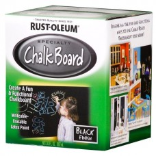 Грифельная краска Rust-oleum Chalkboard, Черная