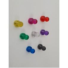 Набор из 8-ми цветных магнитов Push Pin