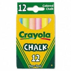 Мел цветной Crayola, 12 шт.