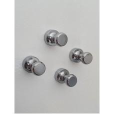 Набор из 4-х усиленных стальных магнитов Push Pin