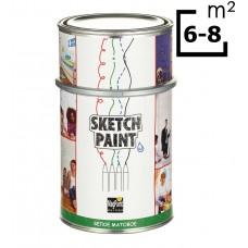 Маркерная краска (маркерное покрытие) SketchPaint 1L